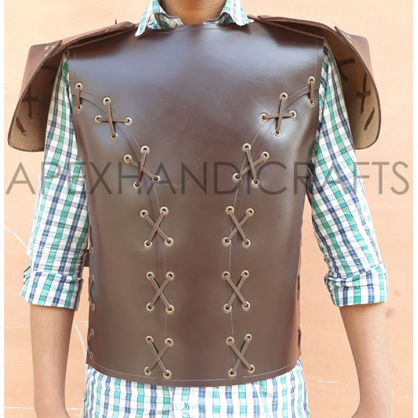 Leather Body Armour APX-005