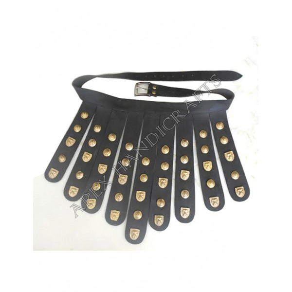 Roman Leather Belt buttons  APX-1208