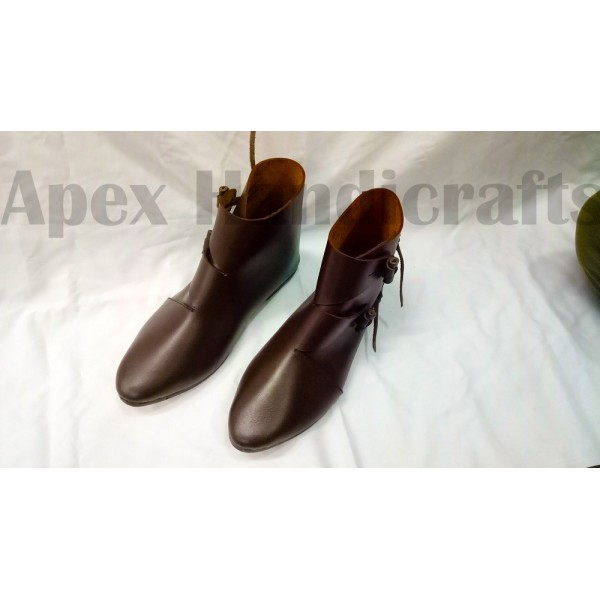 Early medieval toggle shoes, Jorvik style APX-313