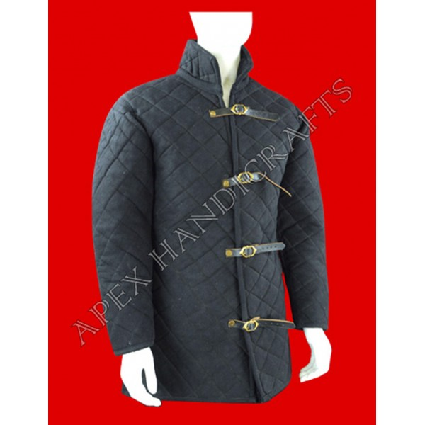 Medieval gambeson black  APX-907