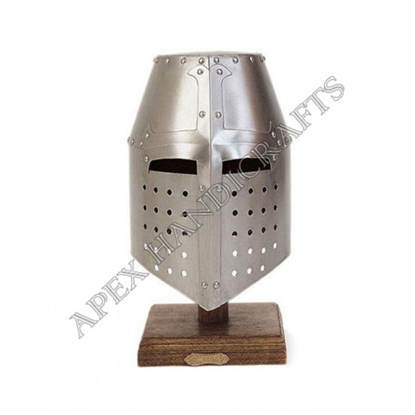 Templar Helmet for Reenactment and Role Playing.  ...