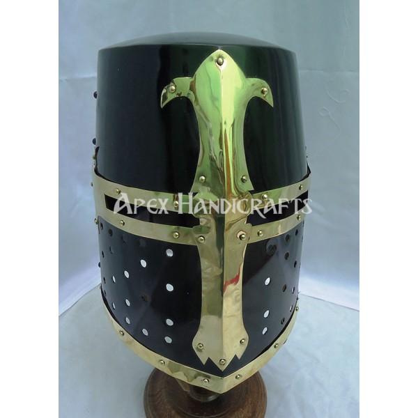 Medieval Barbuta Helmet APX-664