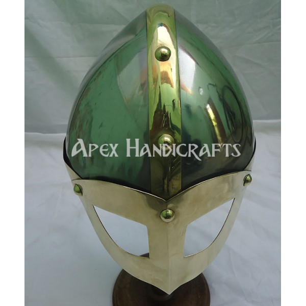 Viking Helmet Battle Armor APX-786