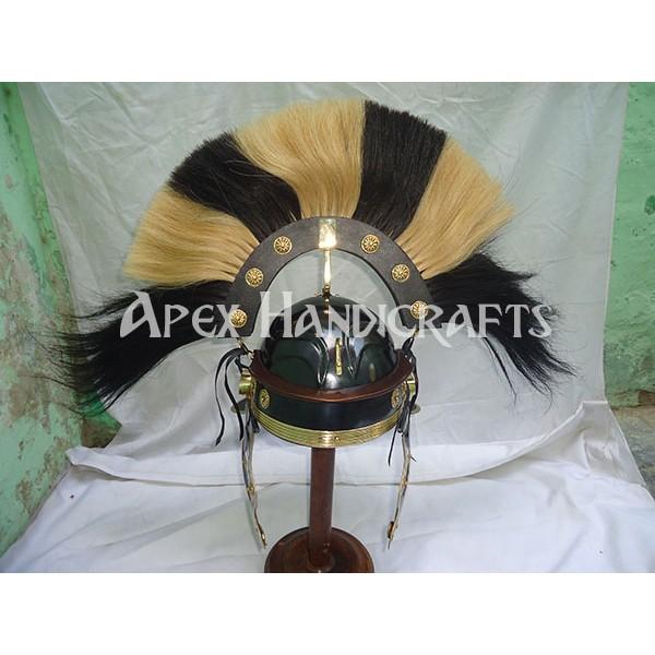 Roman helmet with plume APX-635
