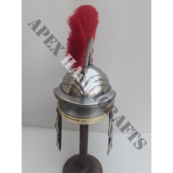 Centurion Helmet with Plume APX-631