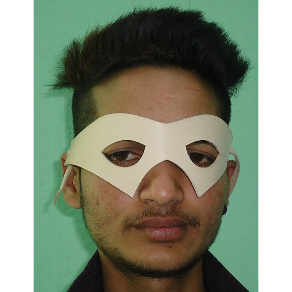 Natural Leather Mask APX-1252