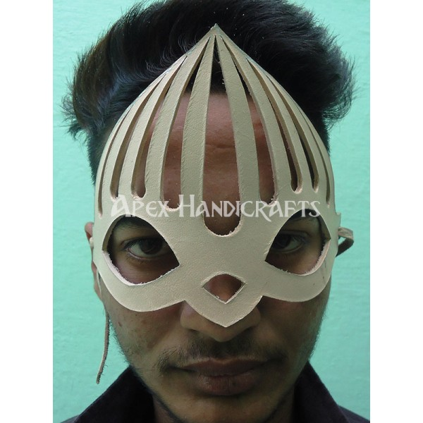 Natural Leather Mask APX-1251