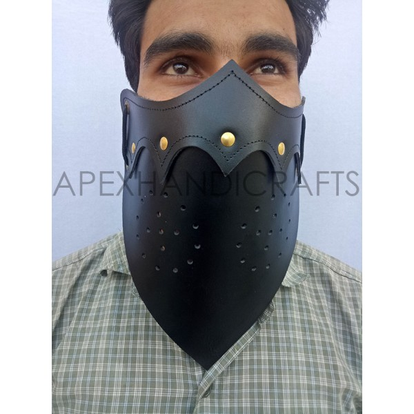 Leather Grim Mask APX-1258