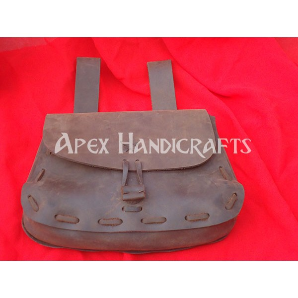 Medieval Leather Pouch APX-1009