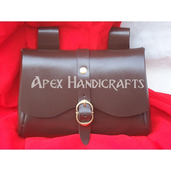Medieval Leather Pouch APX-1011