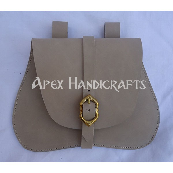 Medieval Leather Pouch APX-1036