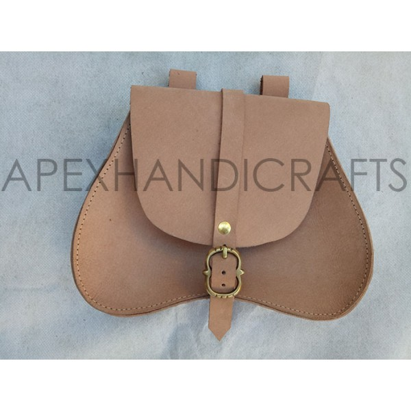 Medieval Leather Pouch APX-1024