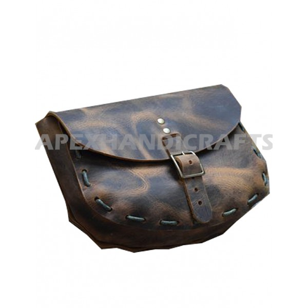 Medieval Leather Pouch APX-1001