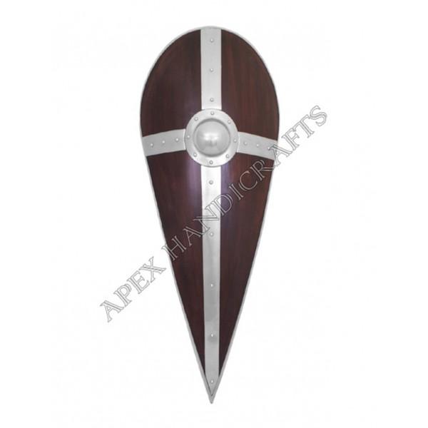 Wooden Roman Republican Shield APX-538