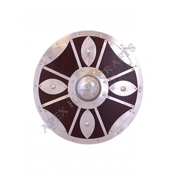 Wooden Round Shield APX-539
