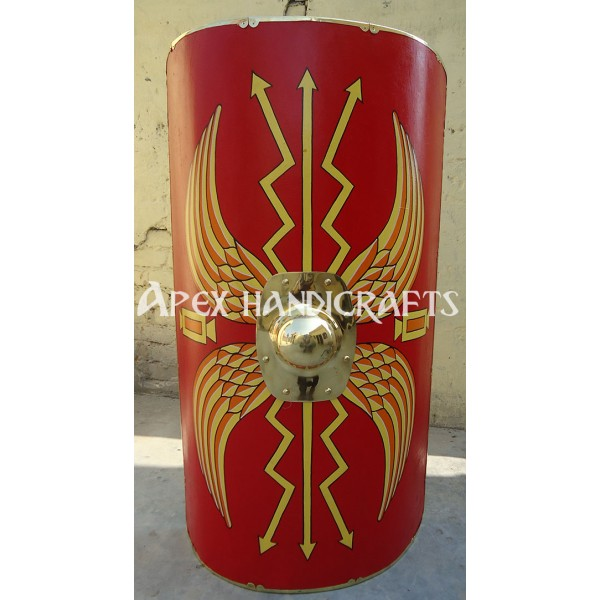 Wooden Imperial Roman Shield APX-531
