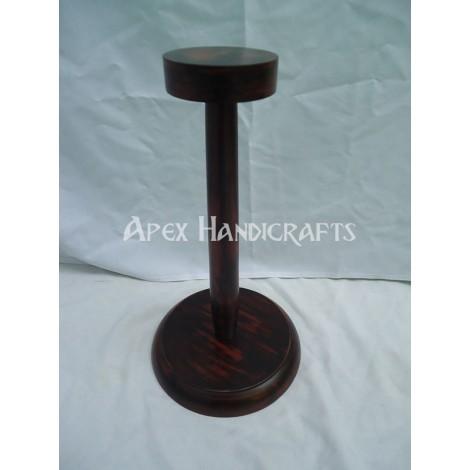 Wooden Helmet Stand APX-1322