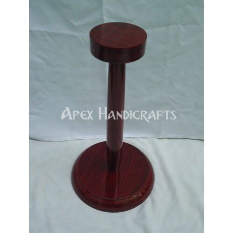 Wooden Helmet Stand APX-1324