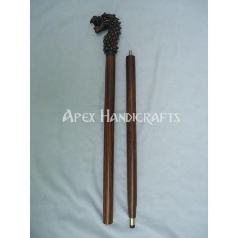 Wooden Walking Stick  APX-1323