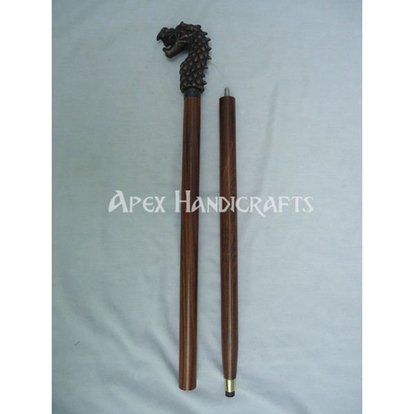 Wooden Walking Stick  APX-1323
