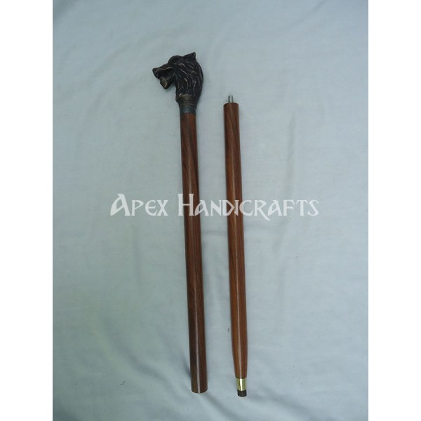 Wooden Walking Stick  APX-1321