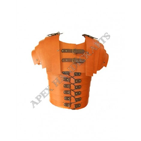 Leather Lorica with Leathe Fittings APX-010