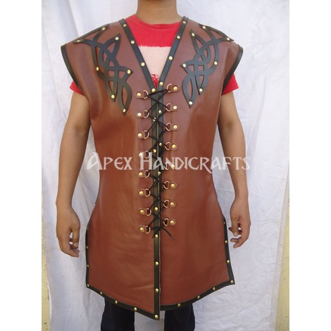 Leather Body Armour APX-003