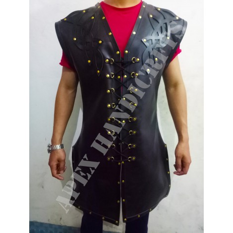 Leather Body Armour APX-004