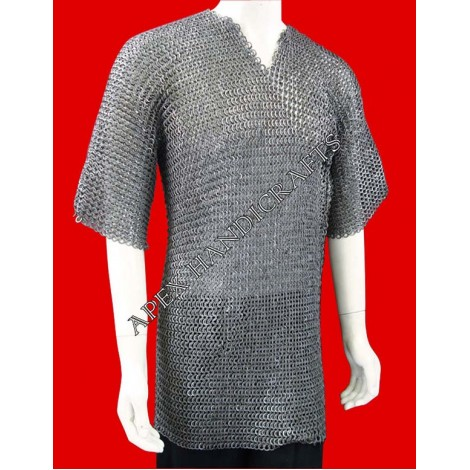 Half  sleeves Long chanimail APX-209