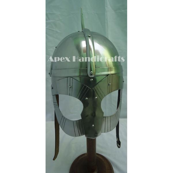 Medieval Viking Helmet Battle Armor APX-784