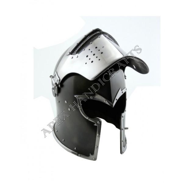 Medieval Barbuta Helmet APX-661