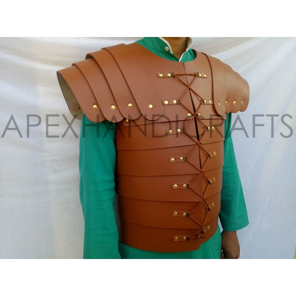 Leather Lorica with Leath...