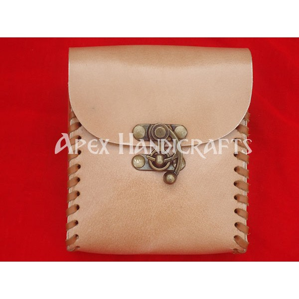 Medieval Leather Pouch APX-1013