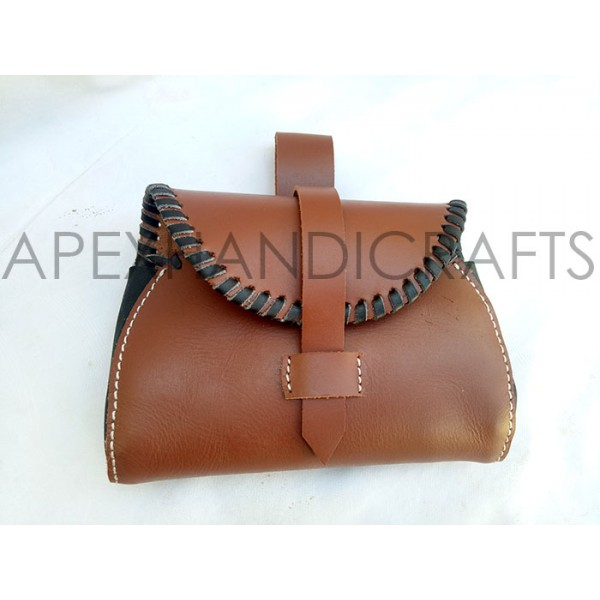 Medieval Leather Pouch APX-1027