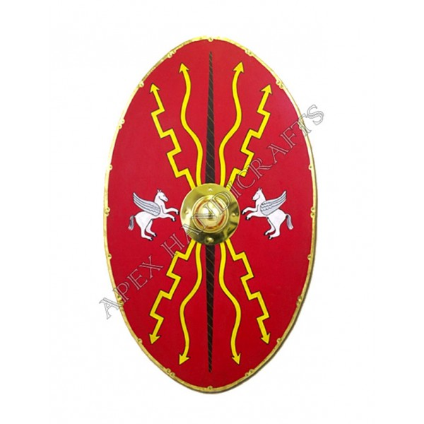 Wooden Roman Republican Shield APX-536
