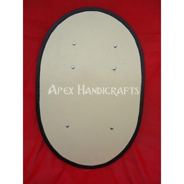 Wooden Roman  Shield APX-534
