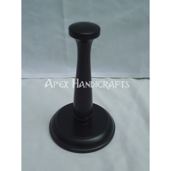 Wooden Helmet Stand APX-1326