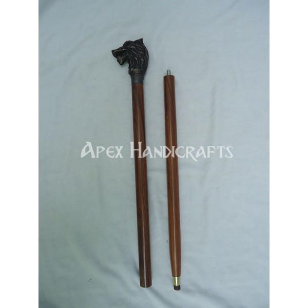 Wooden Walking Stick  APX-1321